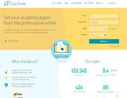 EssayShark website preview
