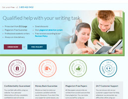 Advancedwriters website preview