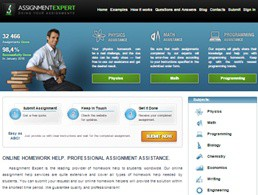 Assignmentexpert website preview