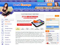 Bestessays website preview