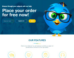 Edubirdie Essay Writing Service website preview