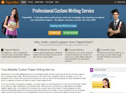 PapersMart website preview
