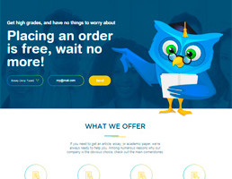 Papersowl Essay Writing Service website preview