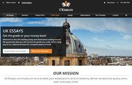 Ukessays website preview
