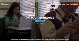 Ultius website preview