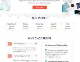 7essays.com website preview